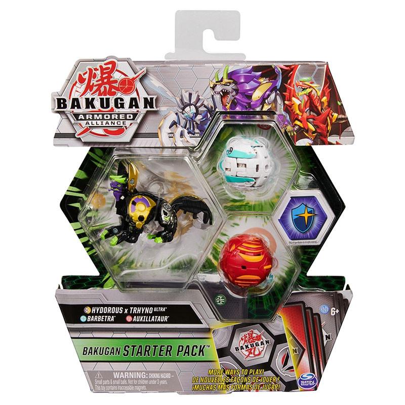 Bakugan starter pack Hydorous x Trhyno