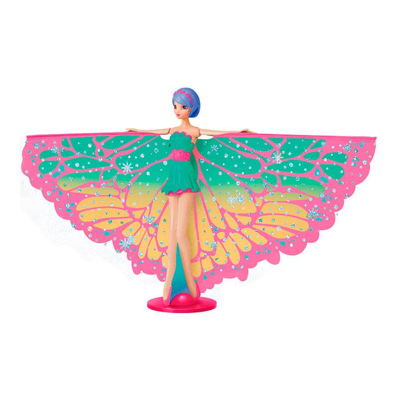 Hada Voladora Brillantina Pelo morado (Esp)