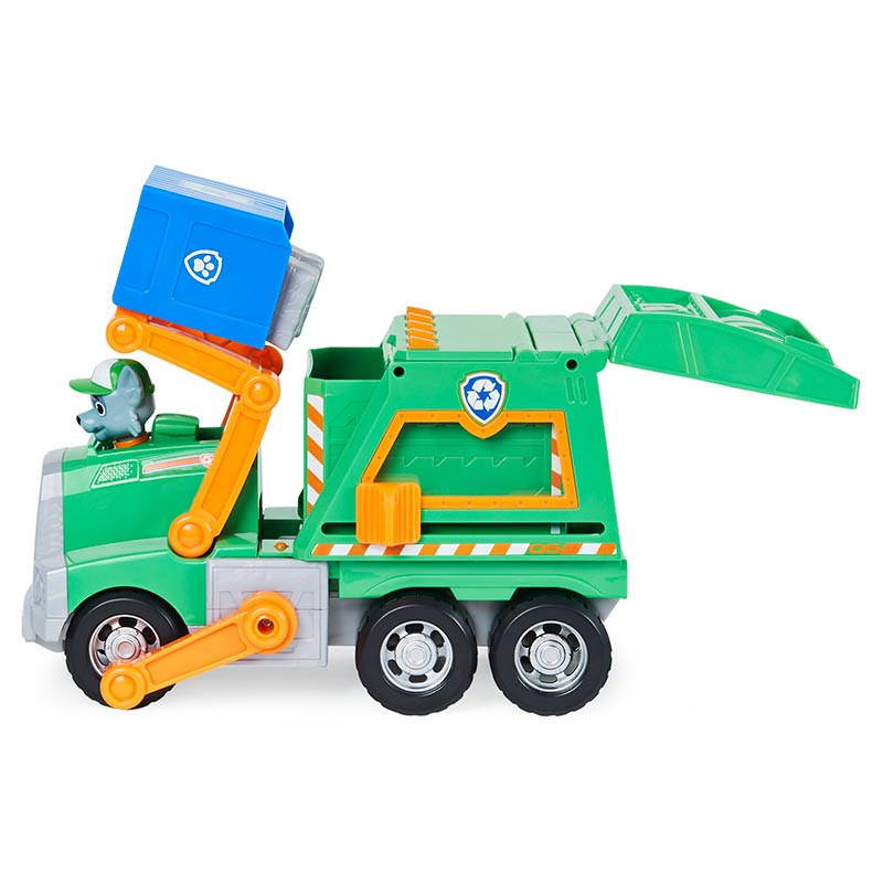 Patrulla canina camión de reciclaje Rocky
