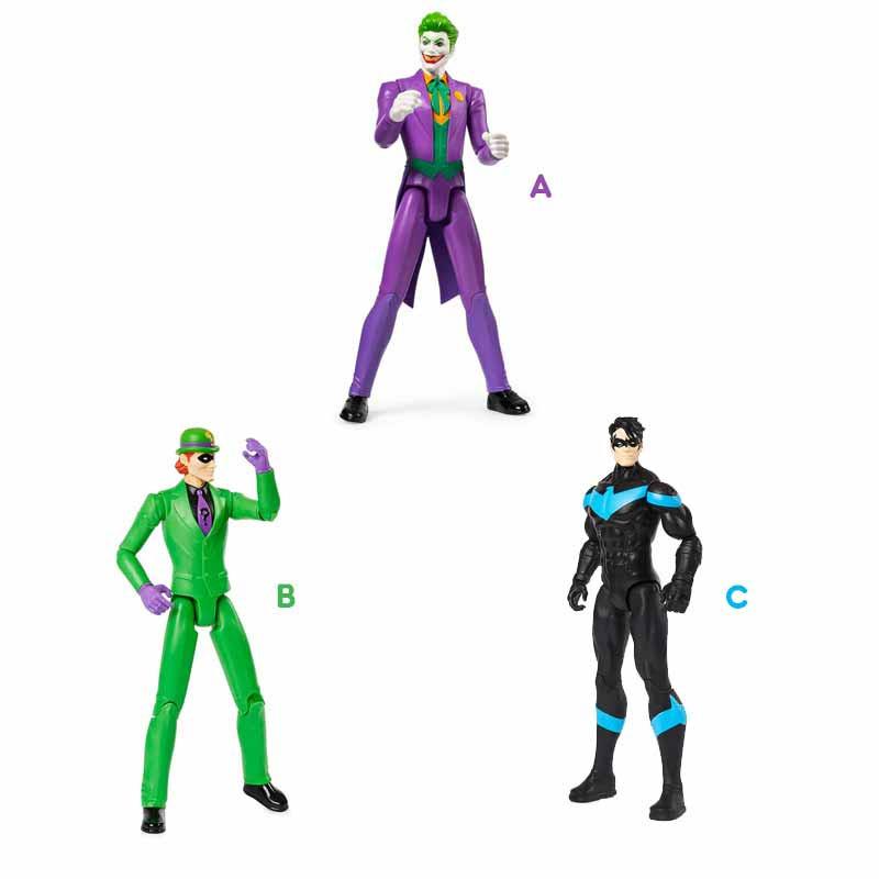Batman Figuras 30cm Malos Bat Tech