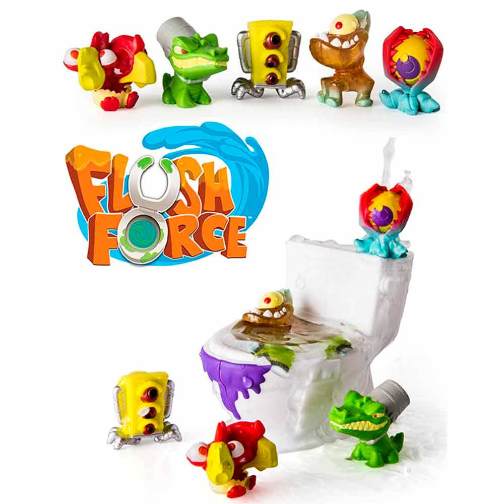 Flush Force pack de 5
