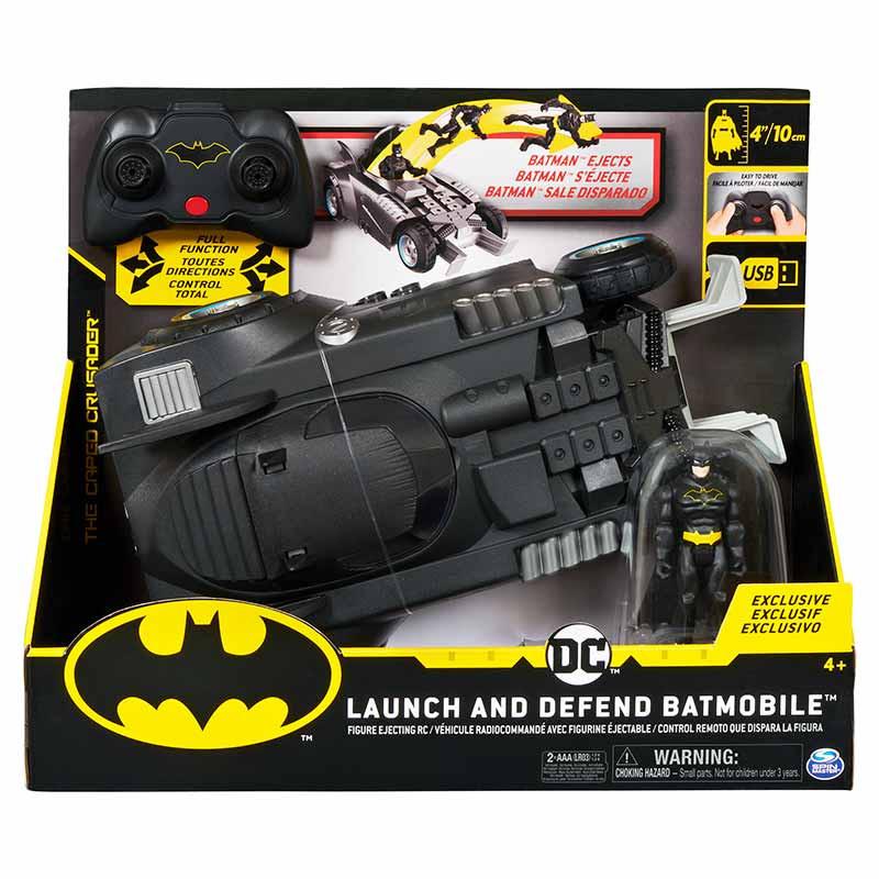 Batmovil RC Lanza-Defiende