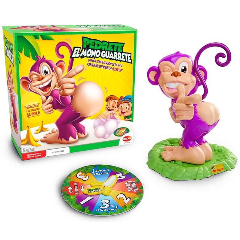 Pedrete el mono guarrete (Esp)