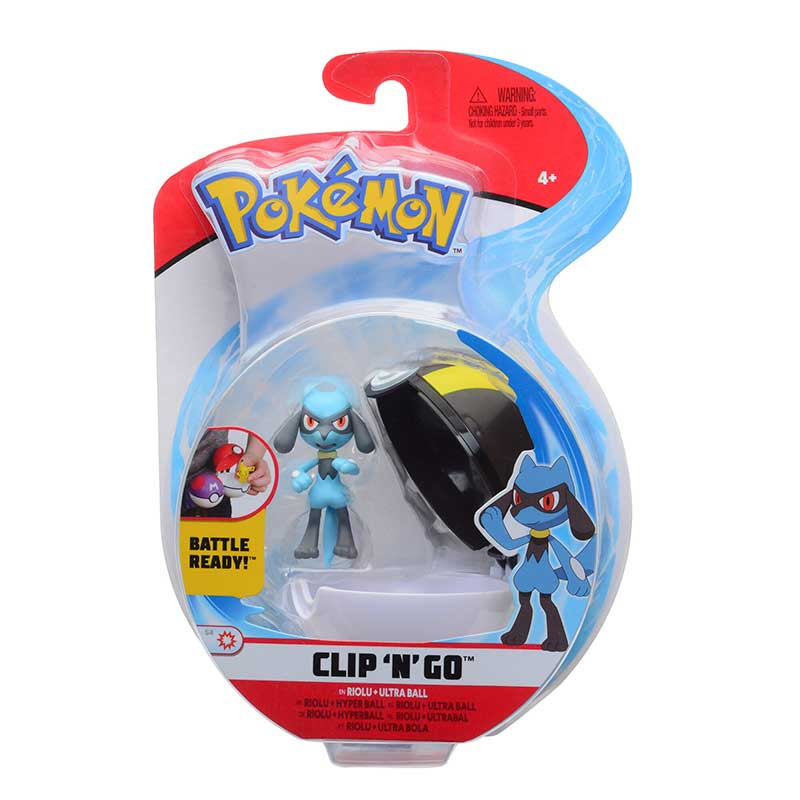 Pokemon Clip N´go Riolu + Ultra ball