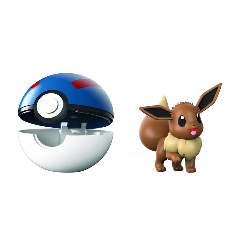 Pokemon Clip n goEevee + super ball
