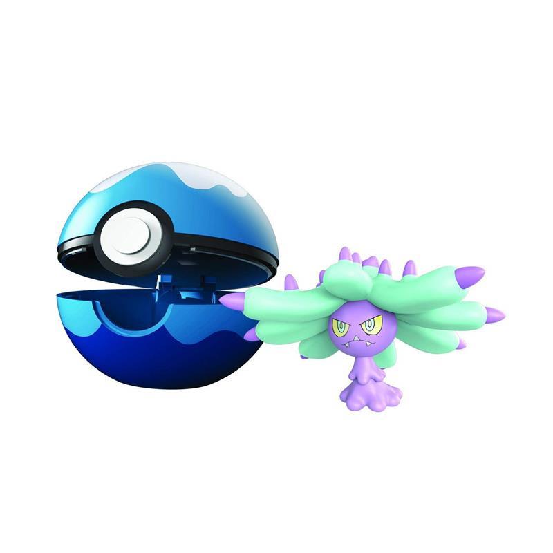 Pokemon Clip n goMareanie + buceo ball