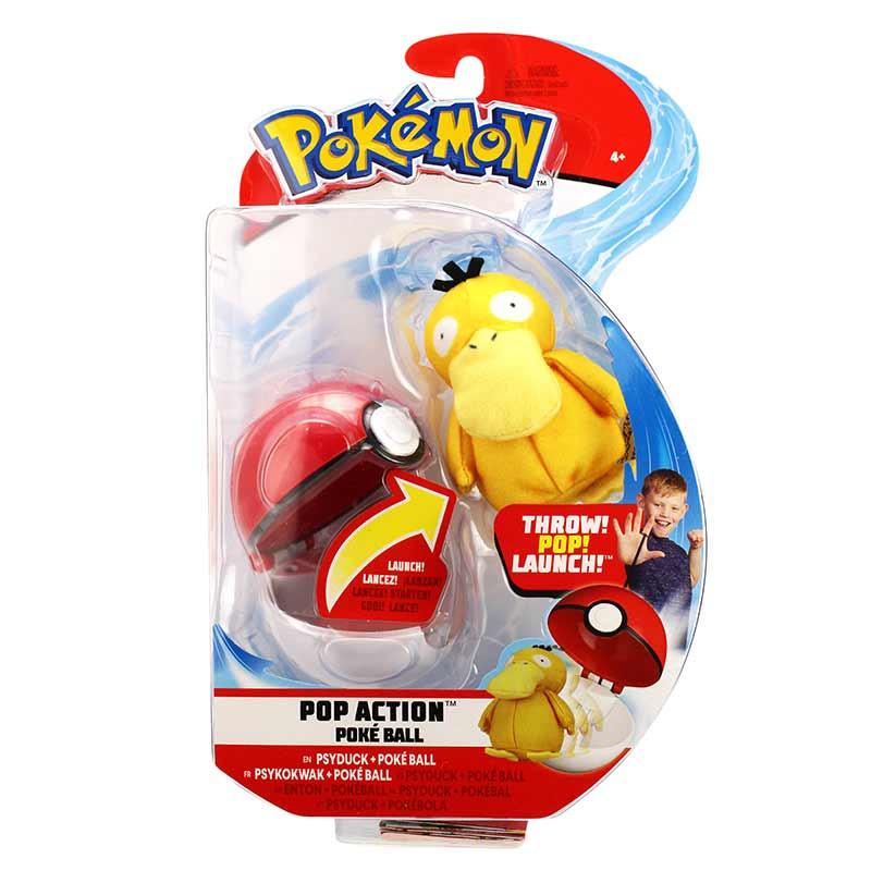 Pokemon lanza y ataca Psyduck