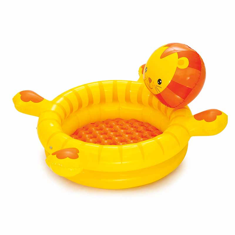 Piscina Lion bolas de colores