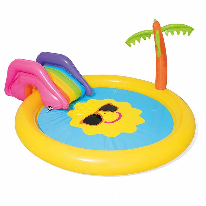 Piscina juego Sunnyland Splash 237x201x104cm