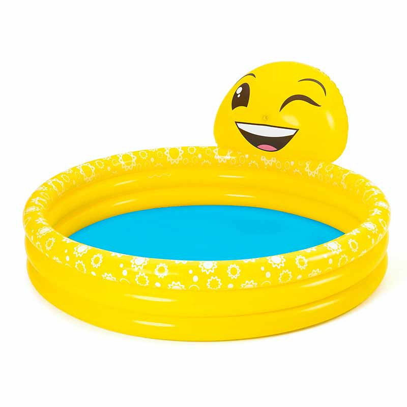 Piscina inflable de juegos Emoji 165 x 144 x 69 cm