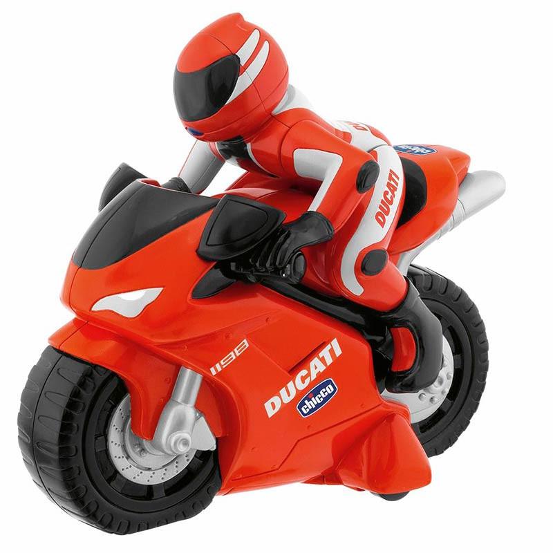 Chicco moto Ducati 1198 radio control