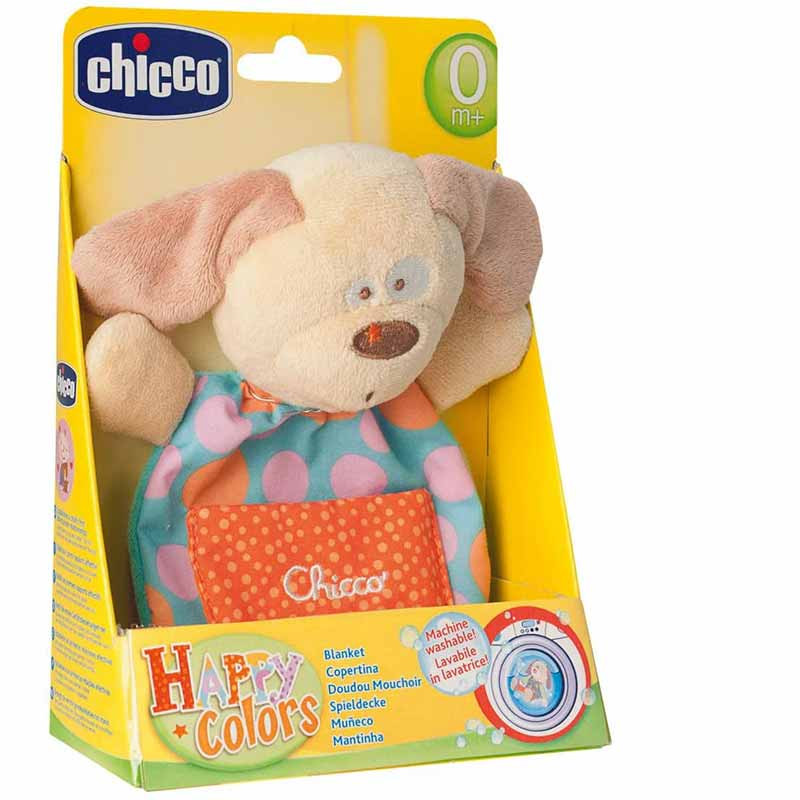 Chicco Mantitas Happy Colors Perrito