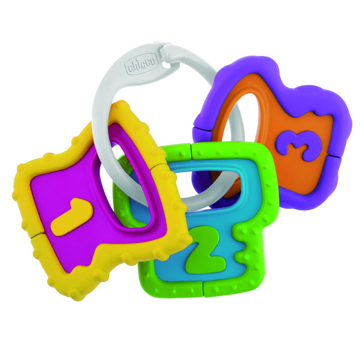 Chicco sonajero llaves fáciles de agarrar