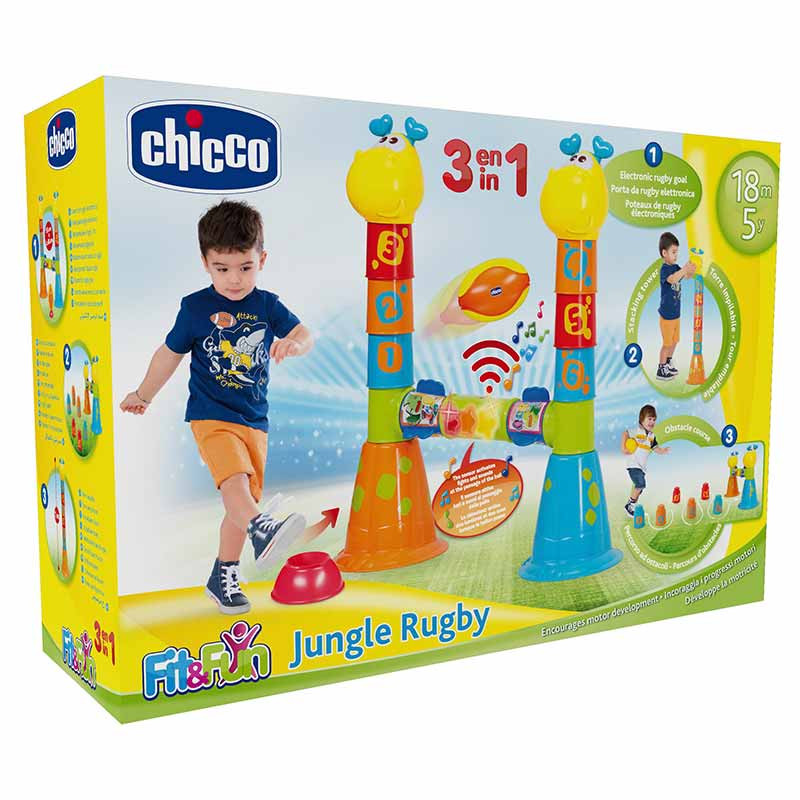 Chicco Rugby de la jungla 3 en 1