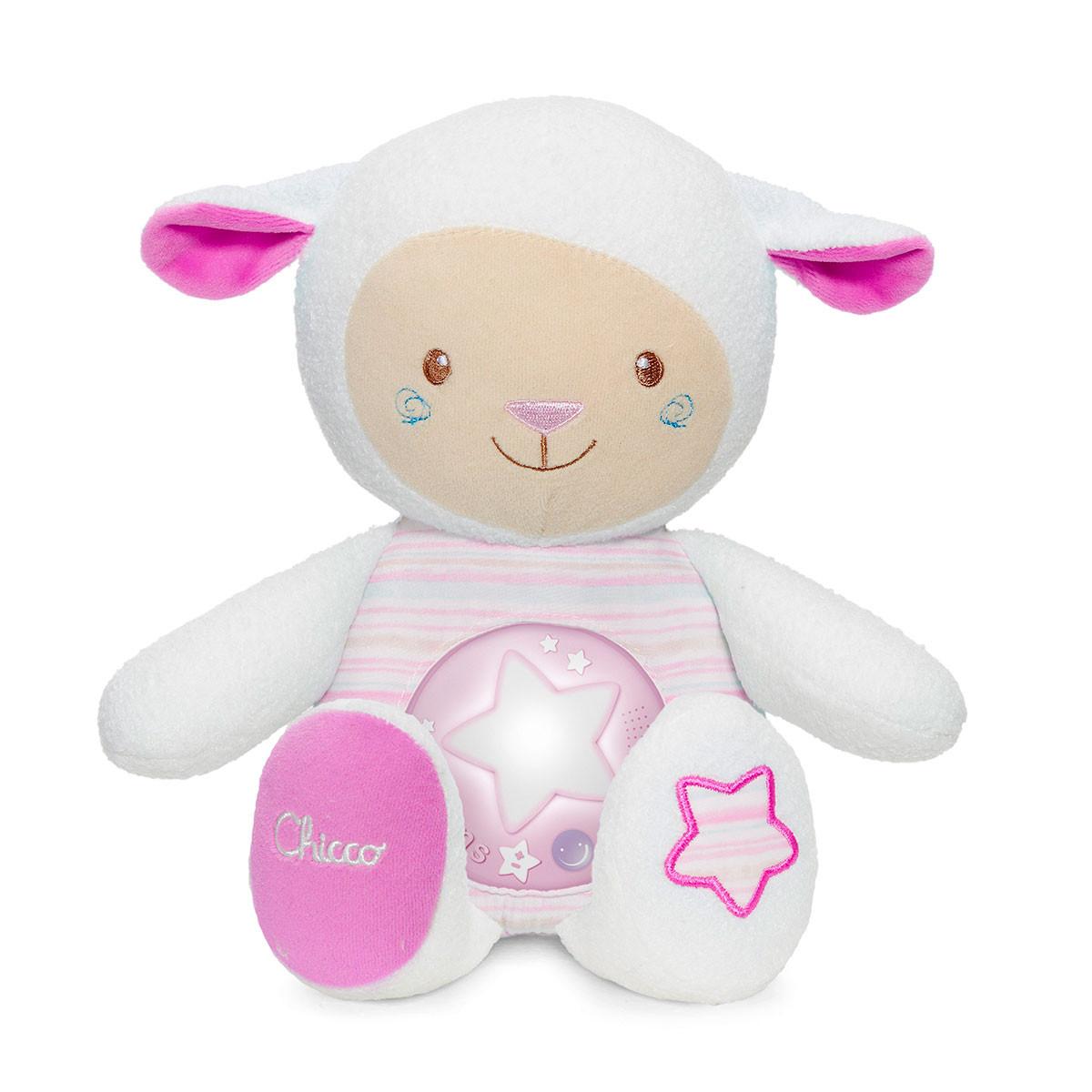 Chicco proyector ovejita dulces nanas rosa