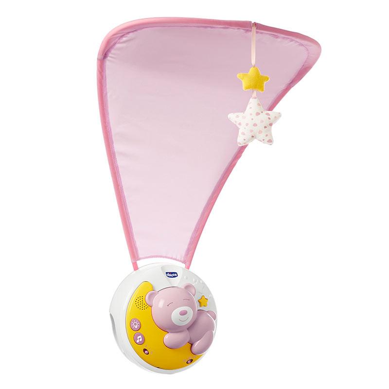 Chicco móvil Next2moon rosa
