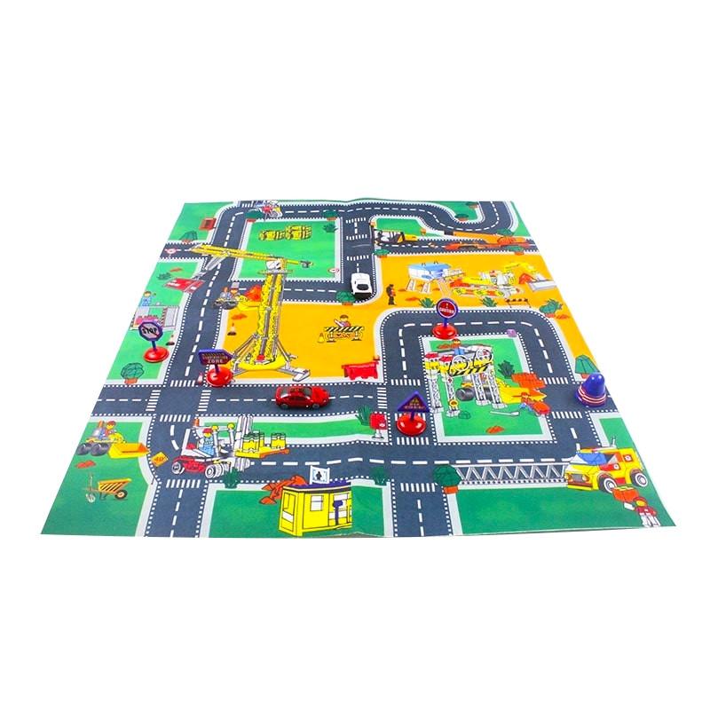 Tapiz de juegos circuito de carreteras