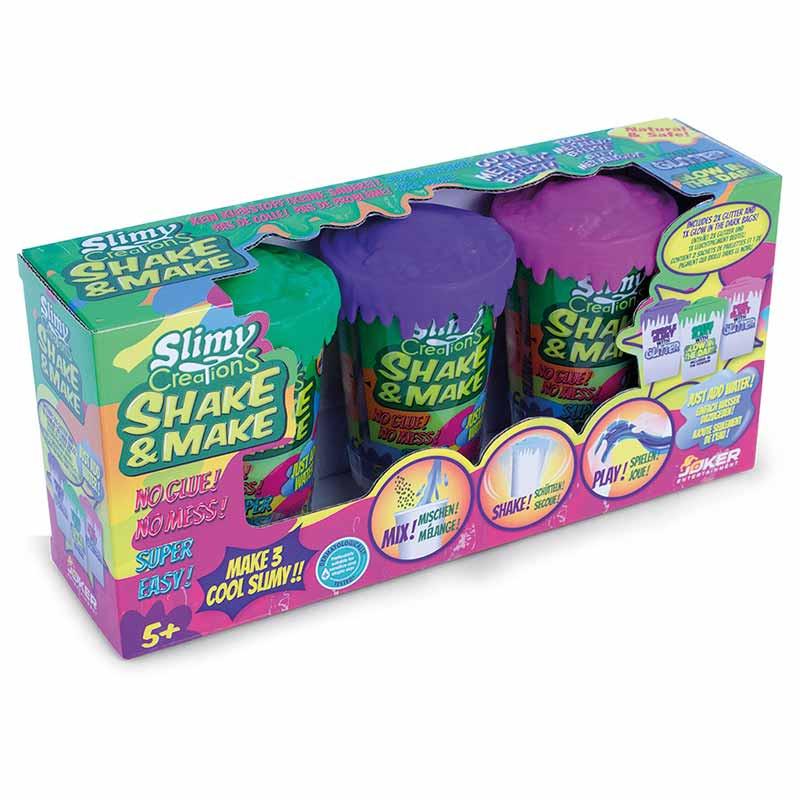 Slimy Creations pack de 3