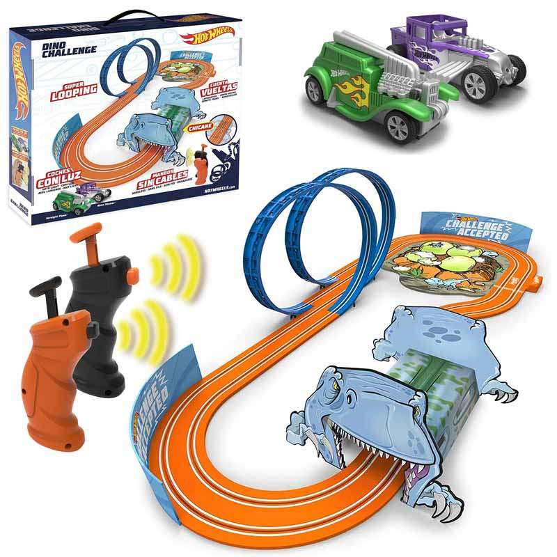 Circuito Hot Wheels Dino Challenge