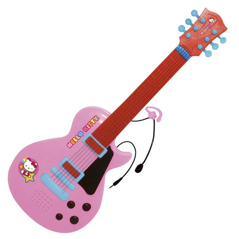 Guitarra electrónica Hello Kitty