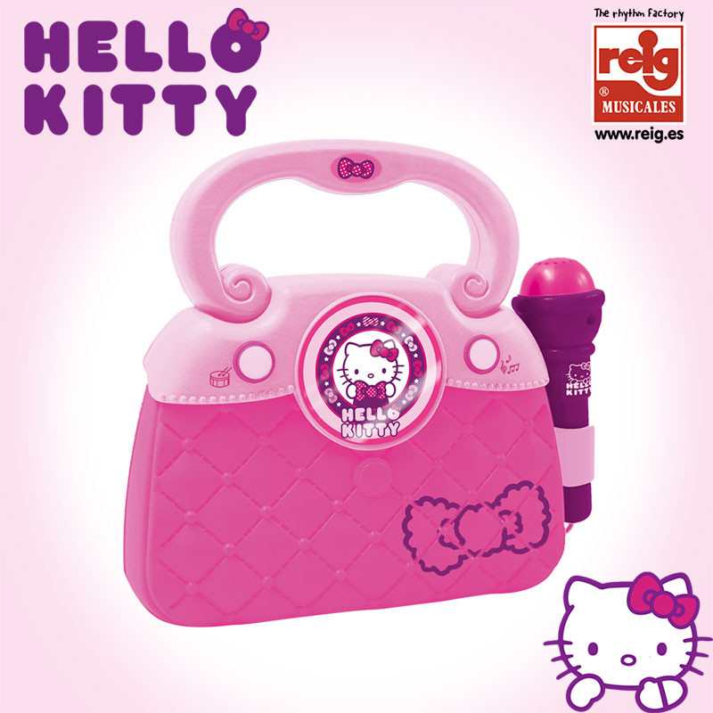 Bolso micro, luces, ritmos conex MP3 Hello Kitty