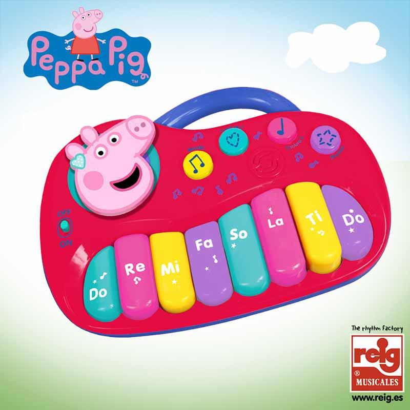 Órgano electrónico Peppa Pig 25 teclas