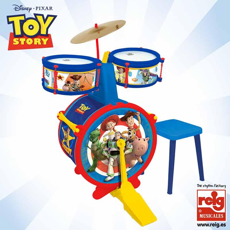 Batería 3 elemento con banqueta Toy Story