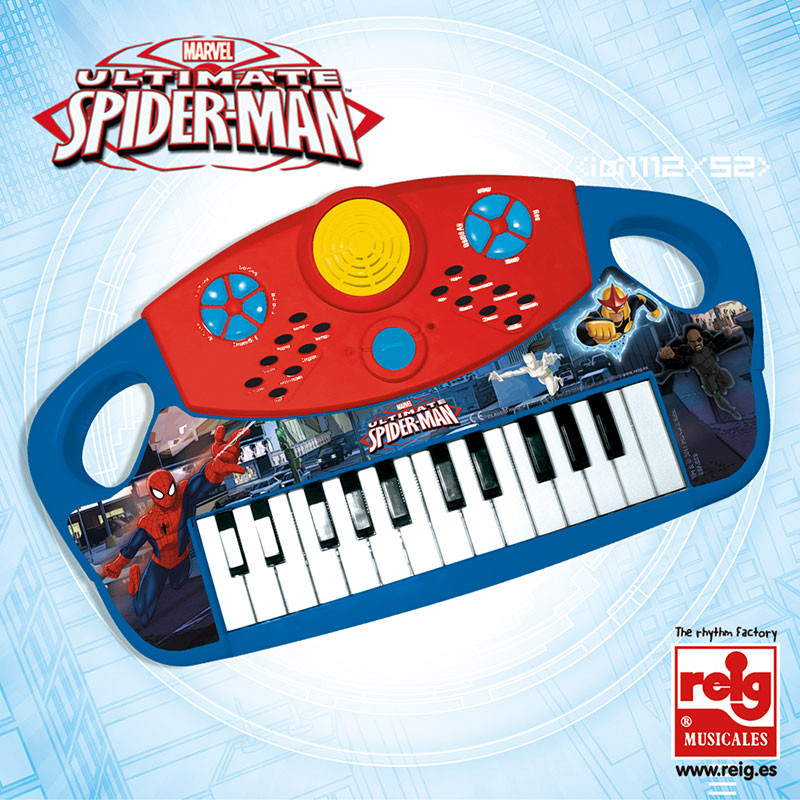 Órgano electrónico 25 teclas Spiderman