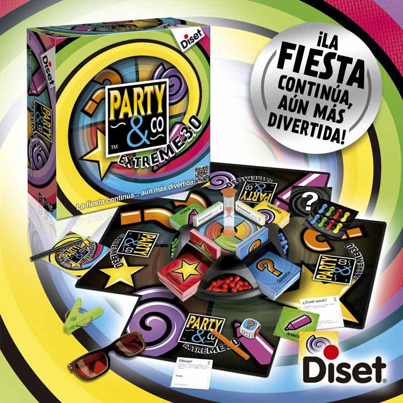 Juego Party & Co extreme 3.0