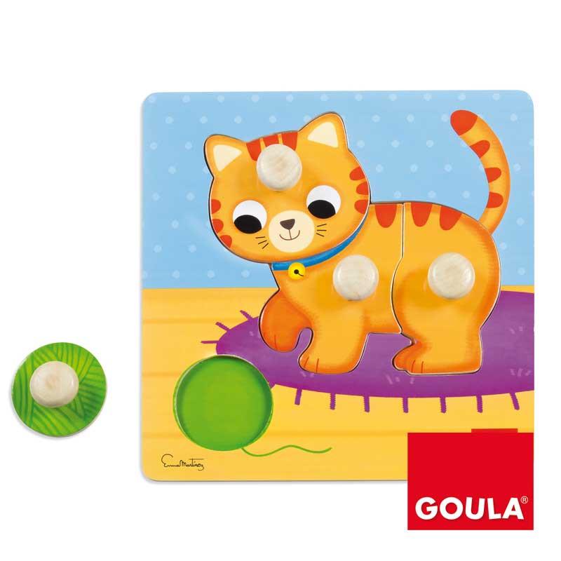 Puzzle gato pivotes grandes