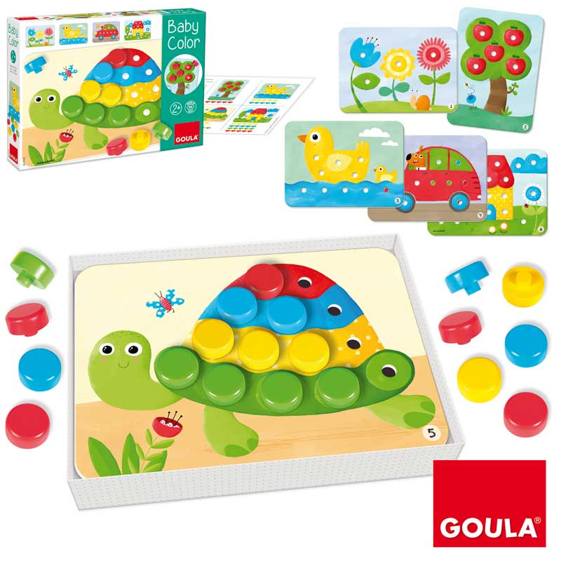 Baby color tortuga encajable
