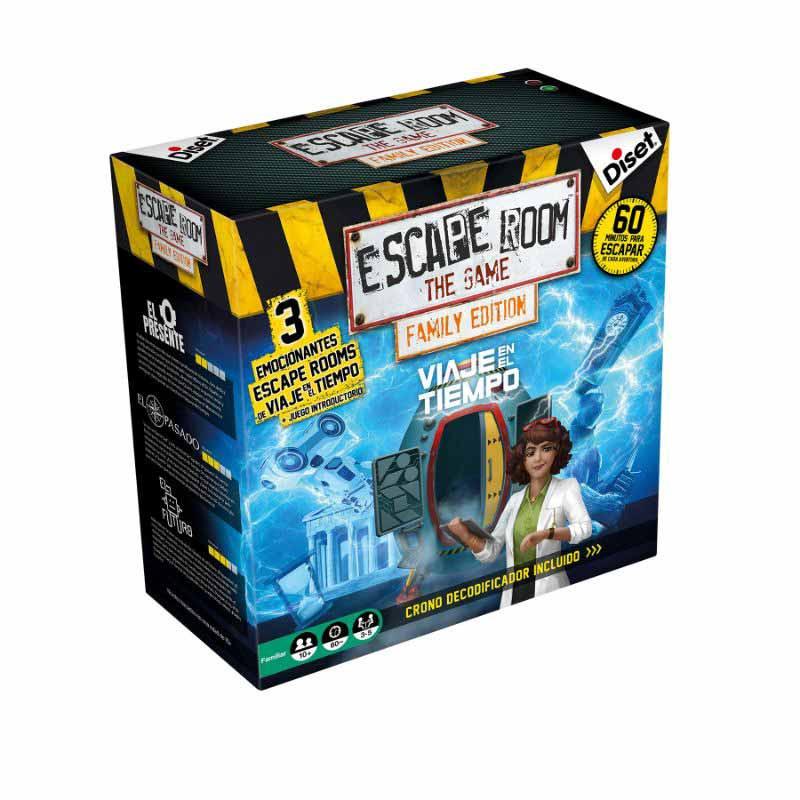 Escape Room Viaje en el tiempo (Family edition)