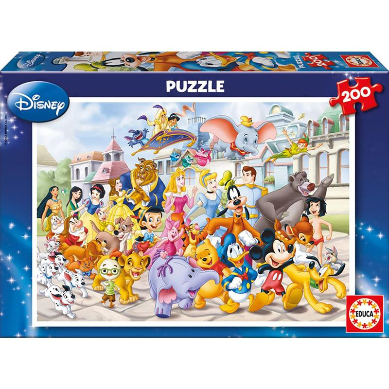 Puzzle 200 piezas cabalgata Disney