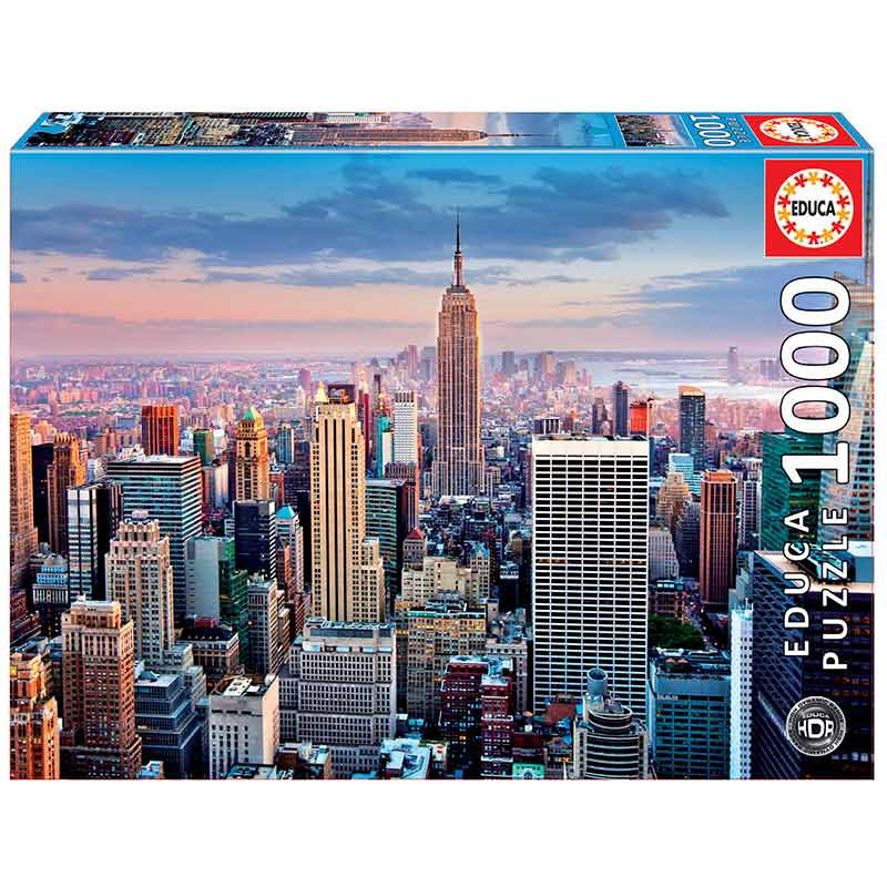 1000 Manhattan, Nueva York, HDR