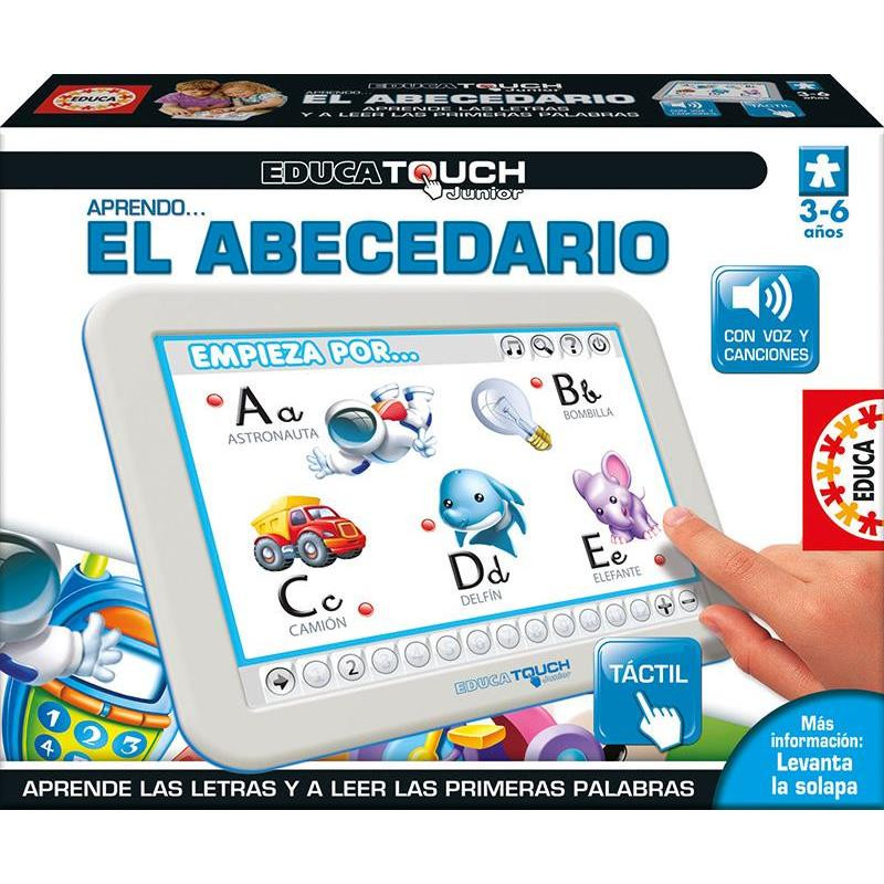 Educa touch junior aprendo ... El abecedario