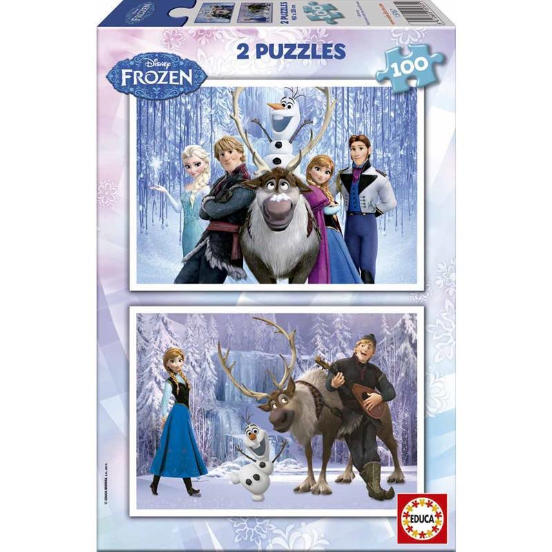 Educa puzzle 2x100 Frozen