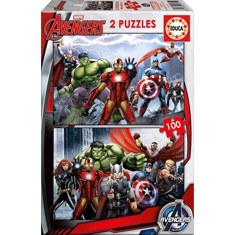 Educa puzzle 2x100 Avengers