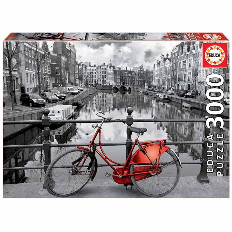 Educa puzzle 3000 amsterdam
