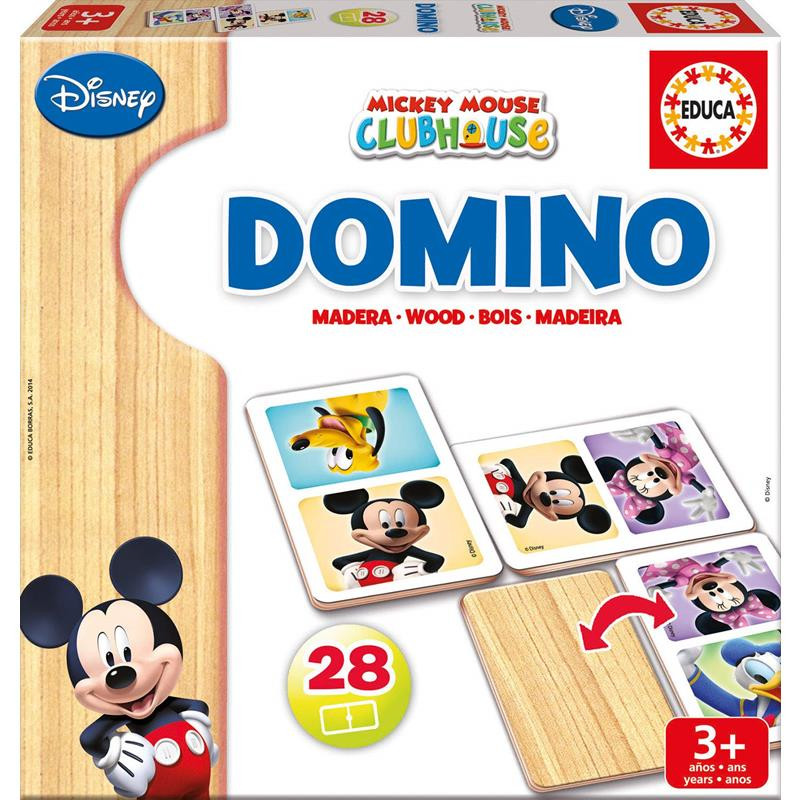 Educa domino madera Mickey/Minnie