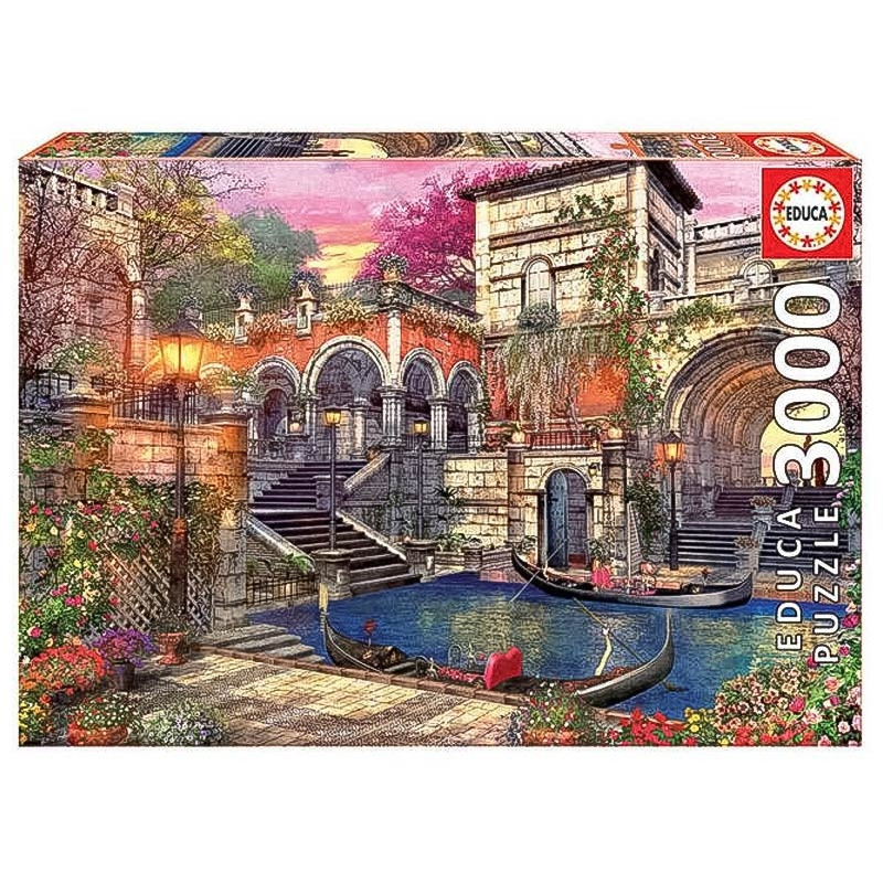Educa puzzle 3000 romance en Venecia
