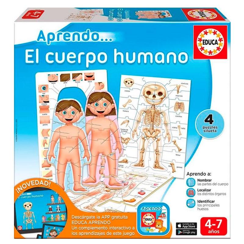 Educa aprendo El cuerpo humano con app