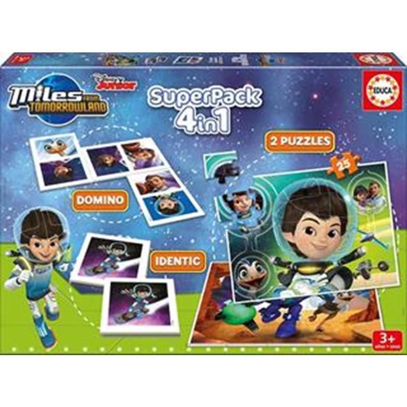 Educa Superpack Juegos Miles Del Futuro
