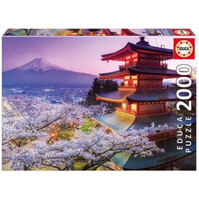 Educa puzzle 2000 monte fuji, Japón