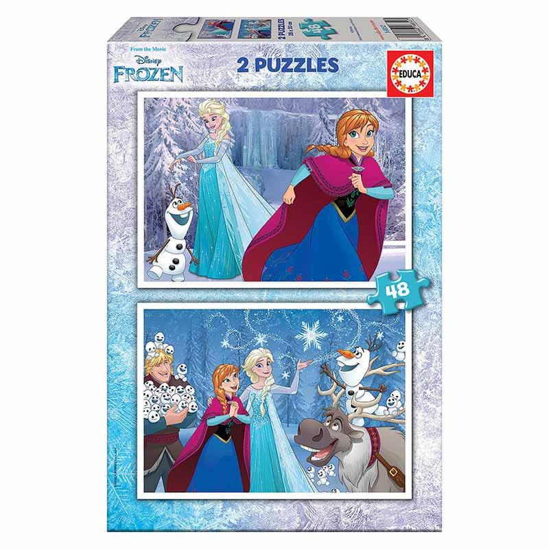 Educa puzzle 2x48 Frozen