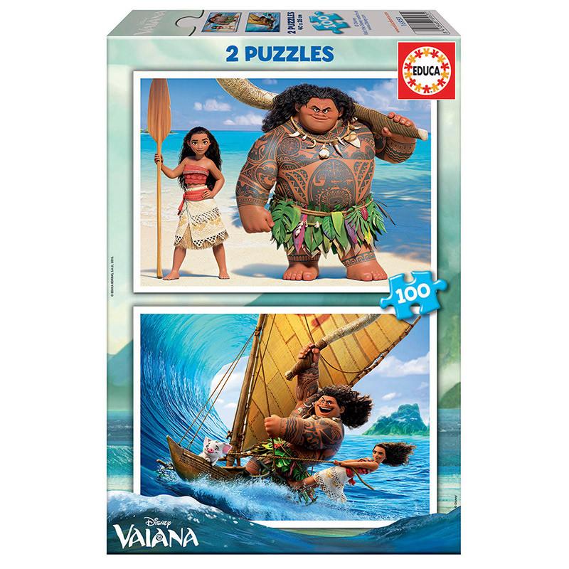 Educa puzzle 2x100 Vaiana