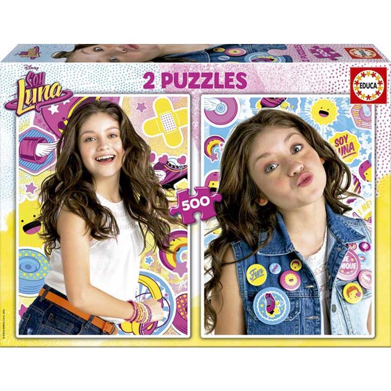 Educa puzzle 2x500 Soy Luna