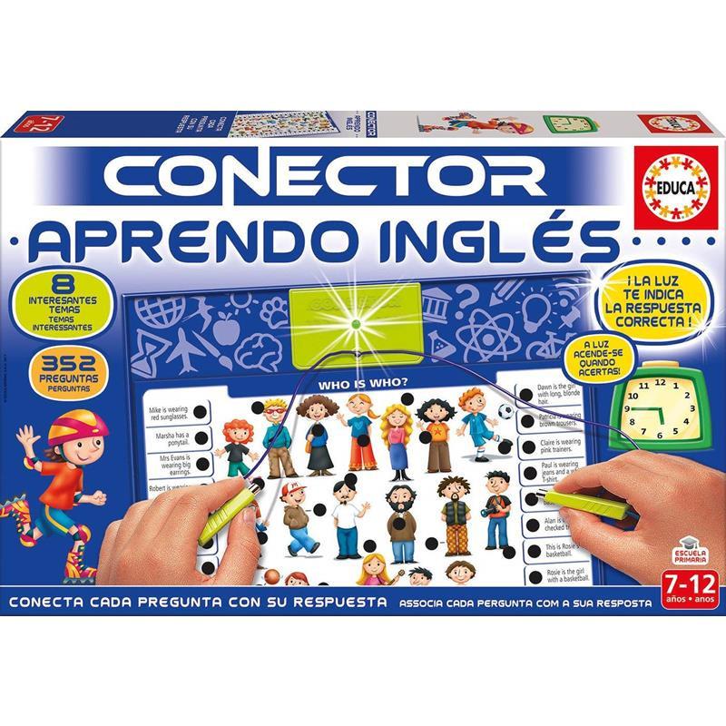 Educa conector aprendo inglés