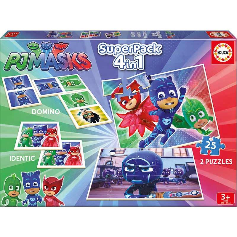 Educa superpack PJ Masks