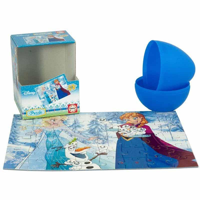 Disney Frozen Puzzle huevo 48 piezas