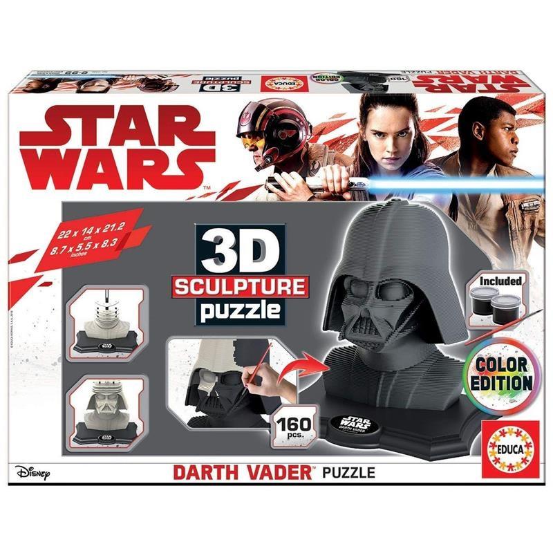 Educa Escultura 3D Darth Vader